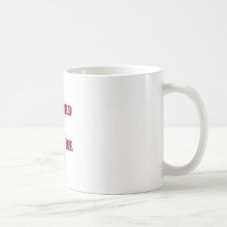 Go hard- burgandy.jpg coffee mug
