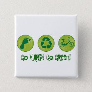 Go Hard, Go Green Button