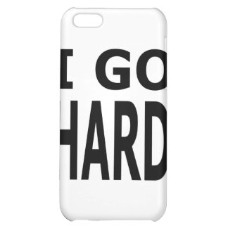 GO HARD iPhone 5C COVER
