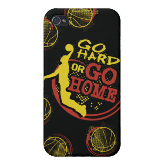 Go Hard or Go Home iPhone Skin iPhone 4/4S Cases
