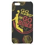 Go Hard or Go Home iPhone Skin iPhone 5C Cover