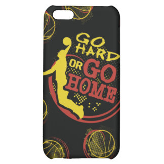 Go Hard or Go Home iPhone Skin iPhone 5C Cover