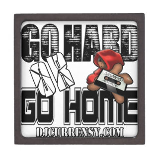 GO HARD or GO HOME Jewelry Box