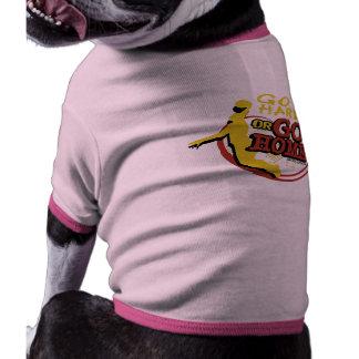 Go Hard or Go Home - Sporty Slang Basketball Doggi Dog Tee Shirt