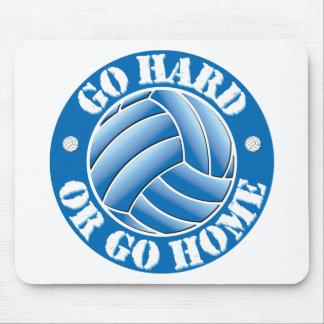 Go Hard or Go Home Vball Mouse Pad