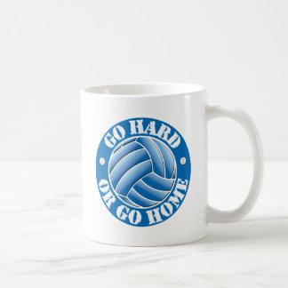 Go Hard or Go Home Vball Classic White Coffee Mug