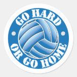 Go Hard or Go Home Vball Sticker