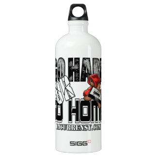 GO HARD or GO HOME Water Bottle
