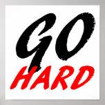 Go Hard Print