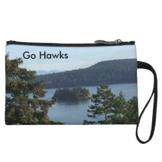 Go Hawks Mini Clutch Bag Wristlets