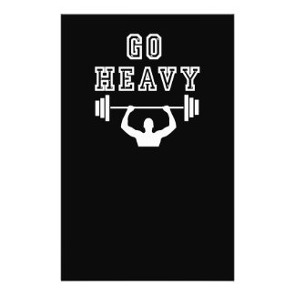 Go heavy flyer