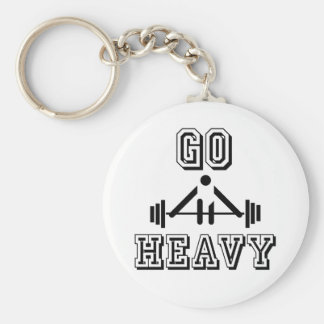 Go heavy keychain