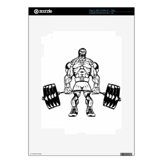GO HEAVY OR GO HOME LOGO WEAR iPad 2 DECALS