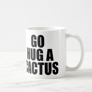 GO HUG A CACTUS COFFEE MUG