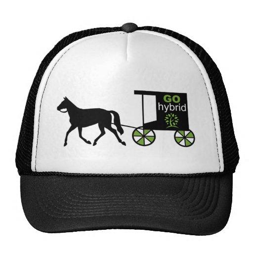 Go Hybrid! Horse & carriage Trucker Hat