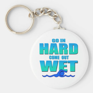 Go In Hard Keychain
