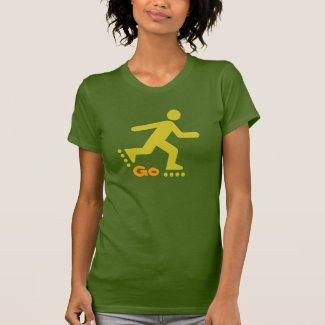 Go InLine Skaters Design, Tshirt