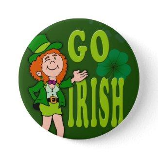 Go Irish Button