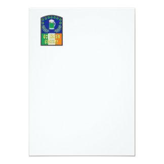 Go Irish Green 5x7 Paper Invitation Card
