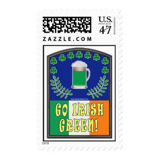 Go Irish Green Postage