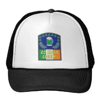 Go Irish Green Trucker Hat