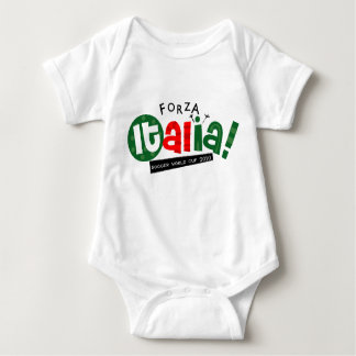 Go Italy World Soccer Baby Bodysuit