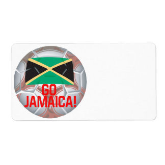 Go Jamaica Shipping Label