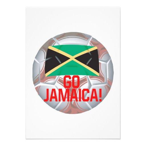 Go Jamaica Personalized Invitations