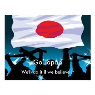 Go Japan Postcard