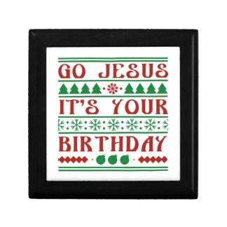 Go Jesus It's Your Birthday Gift Box