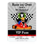 GO KART Birthday invitation! Card