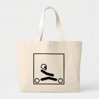 Go Kart Figure Tote Bag
