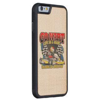 Go Kart Life Carved® Maple iPhone 6 Bumper