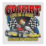 Go Kart Life Posters