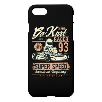 Go Kart Racer Glossy Phone Case