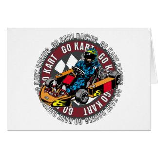 Go Kart Racing Cards