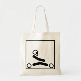 Go Kart Racing Figure Tote Bag