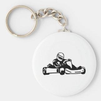 Go Kart Racing Keychain