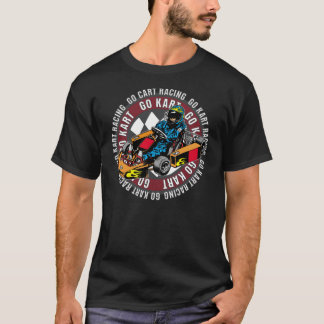Go Kart Racing T-Shirt