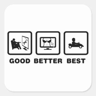 Go-Kart Sticker