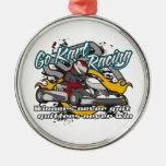 Go Kart Winners Christmas Ornament