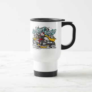 Go Kart Winners Travel Mug