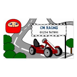 Go Karting Business Card