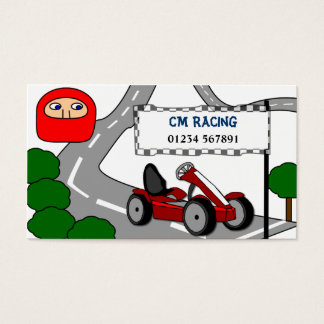 Go Karting Business Card