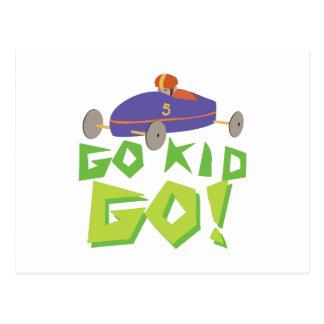 Go Kid Postcard