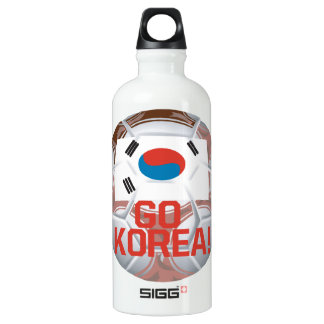 Go Korea Aluminum Water Bottle