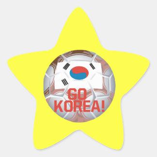 Go Korea Star Sticker