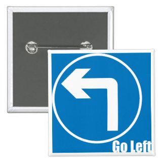go left button