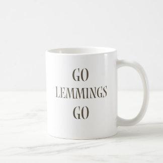 Go Lemmings Go! Coffee Mugs