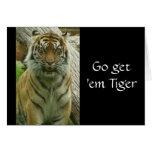 Go les consigue el tigre tarjetón